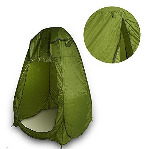 Tienda de campaña portátil para inodoro de Soulongong, súper portátil, instantánea, para camping, viajes, baño, ducha, impermeable, resistente a la corrosión, para picnic en la playa al aire libre