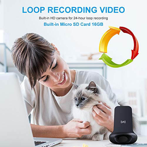 WiFi Hidden Camera Charger Aisoul HD 1080P Wireless Security Camera with Remotely Monitoring【2019 Upgraded】