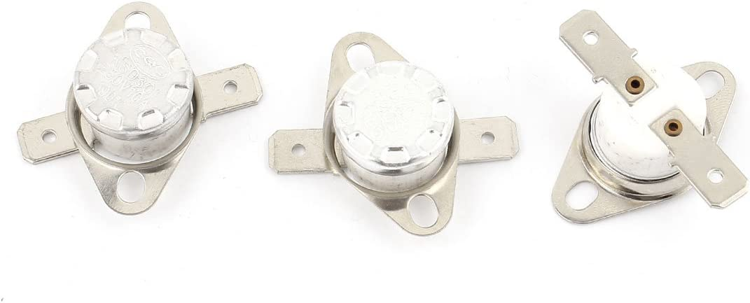 uxcell 3 Pcs Max 63% OFF KSD301 NC Be super welcome Switch Temperature 190 Thermostat Celsius