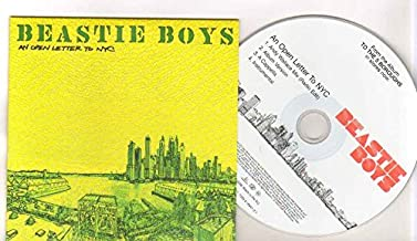 BEASTIE BOYS - AN OPEN LETTER TO NYC - CD (not vinyl)
