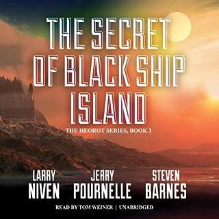 The Secret of Black Ship Island audiobook cover art