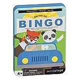 Petit Collage PTC327 On-The- On-The-Go Bingo Juego de Viaje magnético, Multi