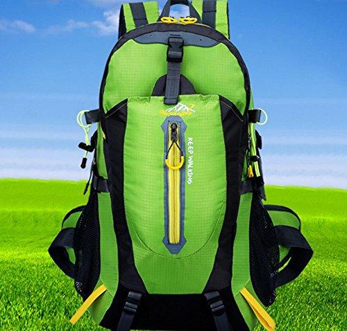 Imperméable à l'eau multifonctionnel sports de plein air sacs à dos sacs de sport outdoor alpinisme sac sport voyage épaule , green