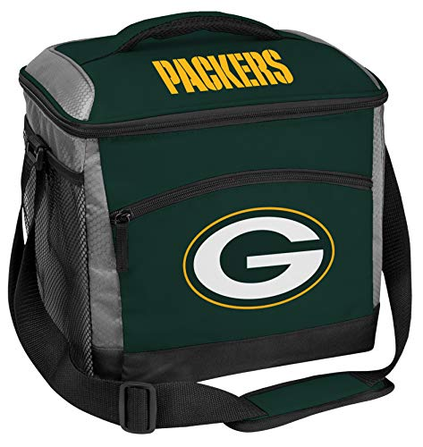 Rawlings NFL Soft-Sided Insulated Cooler Bag, 24-Can Capacity, Green Bay Packers