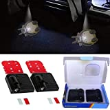 YSpring Auto Door Led Wireless Light Anime Totoro Car LED Magnetic Welcome Totoro Logo Shadow Lights Car Door Laser Projector Lamps (2pcs/set)