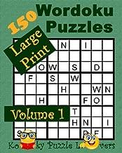 Wordoku, Volume 1, 150 Large Print Puzzles
