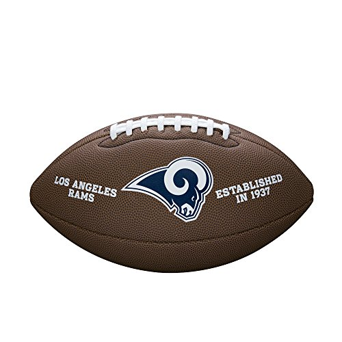 WILSON NFL Team Logo Composite Fußball, St.Louis Rams, Official