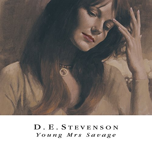 Young Mrs Savage audiobook cover art