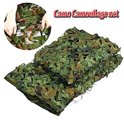 Filet De Camouflage Vert Oxford Tissu Grand Filet Camo Chasse Tir Cacher Cacher Armure Filet Stores pour Jardin Parasol Protection De La Vie Privée Terrasse Balcon Pergola Gazebo Refuge ,3×5m