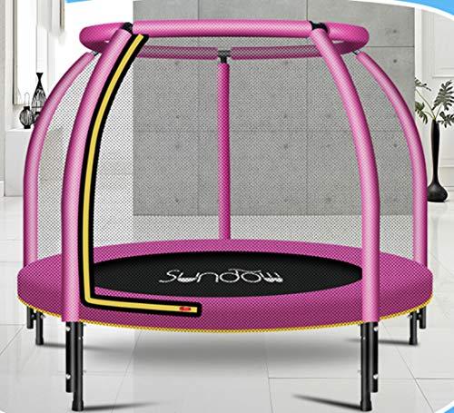 Mini Trampoline kinderen volwassen vouwen ronde trampoline complete set inclusief springen vel veiligheid net gewatteerde net berichten en rand baai