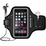 iPhone 6 7 8 SE(2020) Armband, JEMACHE Fingerprint Touch Supported Gym Run Workout