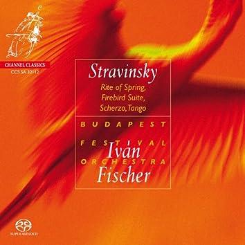 Stravinsky: Rite of Spring, Firebird Suite, Scherzo, Tango