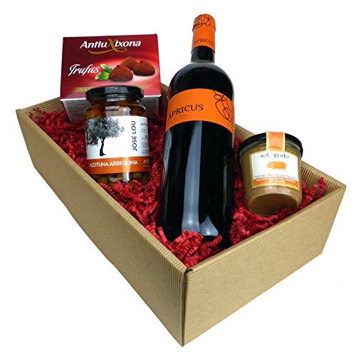 Geschenk-Box - Apricus (Ribera del Duero) - mit spanischer Feinkost, Tapas schenken