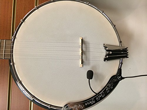 The Feather Banjo Pickup with Flexible Micro-Gooseneck by Myers Pickups
