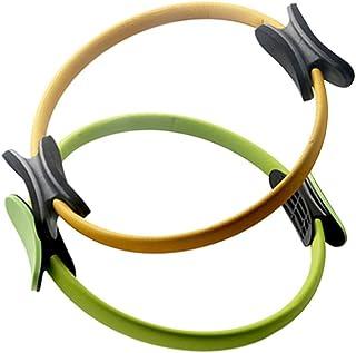 Garneck 1PC Yoga Ring Pilates Ring Resistance Circle Magic Exercise Circle Anti-slip Dual Grip for Training Ring Women Mad...