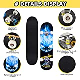 Zoom IMG-2 benewell tavola da skateboard completa