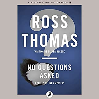 No Questions Asked audiobook cover art