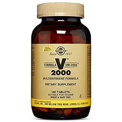 Solgar Formula VM-2000 Tablets - 180 tablets