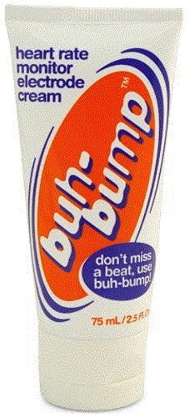 漫画酔って消化器Buh-Bump ハートレートモニター 電極クリーム 75 ml 並行輸入品
