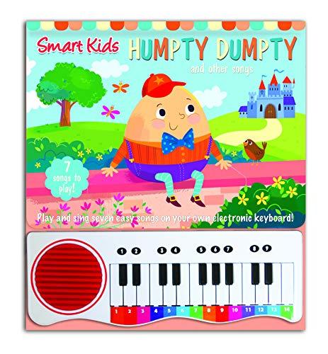Piano Book for Children Humpty Dumpty Nursery Rhymes