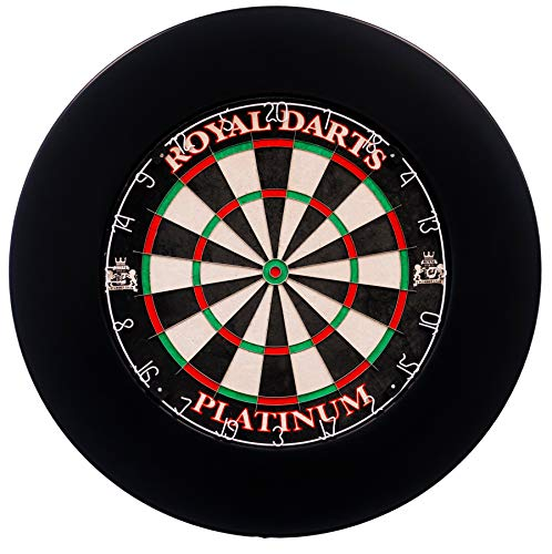 Royal Darts Dartboard Surround Schwarz