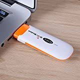 Auntwhale Mini portátil USB 3G WiFi Router Wi fi Dispositivo móvil Hotspot Desbloqueado Wireless Modem Apoyo SIM