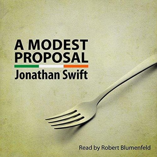 A Modest Proposal audiobook cover art