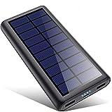 Powerbank Solare 26800mAh, VOOE【2020 Chip intelligente】Caricabatterie Solare Portatile...