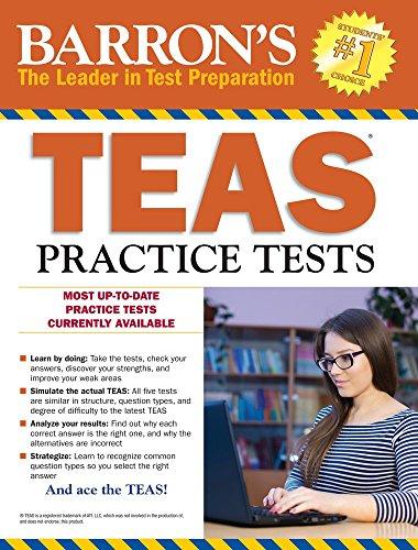 TEAS Practice Tests with Online Tests (Barron's Test Prep)