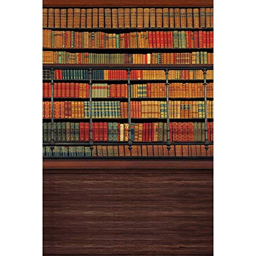Pared de Fondo Estantería Retro Delgada estantería Biblioteca librería Estudio fotográfico decoración Telones De Fondo De Navidad Telón de Fondo de fotografía Foto Fondo Imág