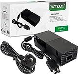 Xbox One Power Supply Brick, [versión silenciosa mejorada] AC adaptador cable de alimentación cable de carga Kit de repuesto para Xbox One Auto Voltaje 100-240V, negro
