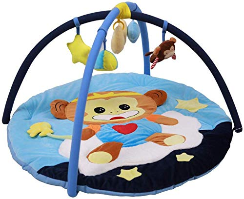 SCLL Play Bow for Babies Play Blanket Hanging Toy with Music Washable Super Soft Cloth Gift for Newborn Boys and Girls, 0-12 Months, Stable, Pink, Blue