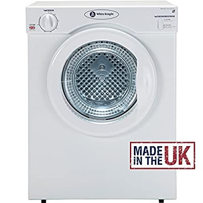 White Knight C37AW Compact Vented Tumble Dryer 3kg