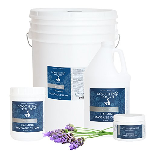 Review Soothing Touch Massage Cream Calming 5 Gal
