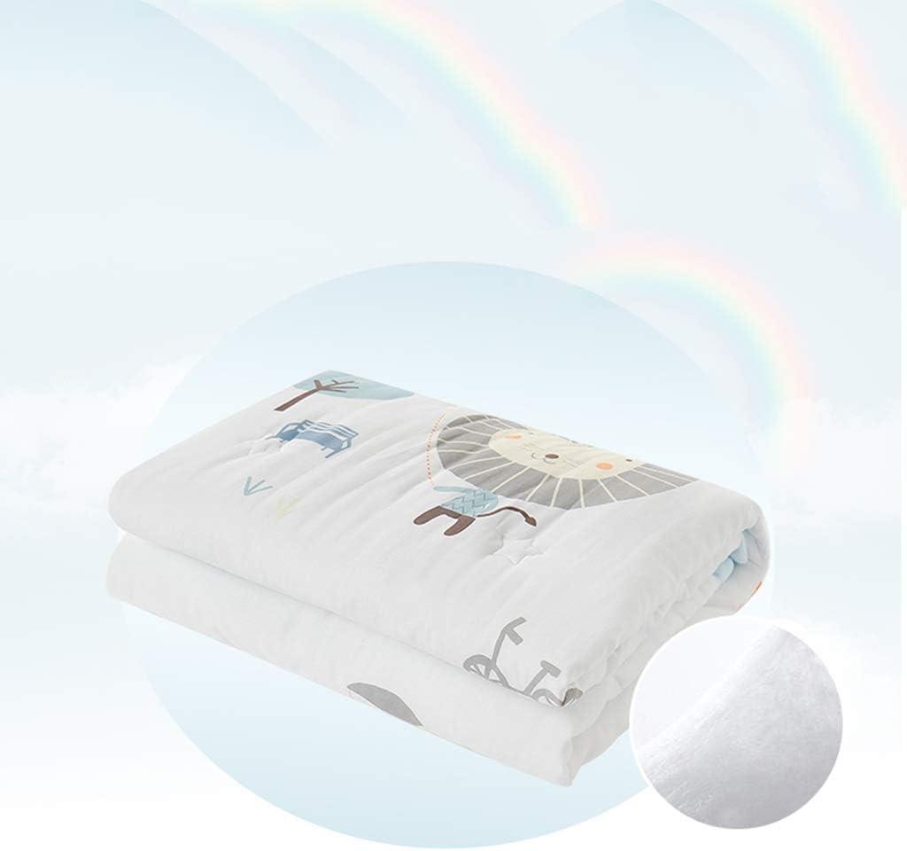 SSRS Bébé climatiseur est Coton été bébé Nouveau-né été Cool bébé Couette Couette Enfant Couette (Color : B) C