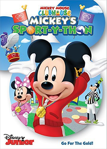 Mickey Mouse Clubhouse: Sport-Y-Thon Sacramento Mall Mickey's mart