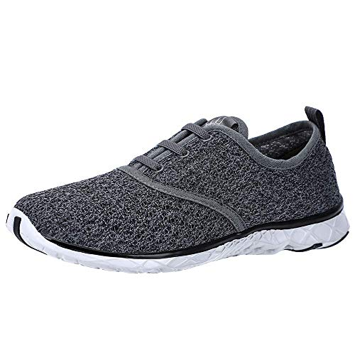 ALEADER Women's Stylish Quick Drying Water Shoes Gray 6 D(M) US