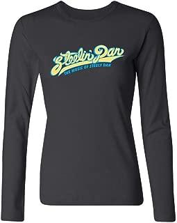 YLINTS Women's Steely Dan Logo Long Sleeve T-shirt