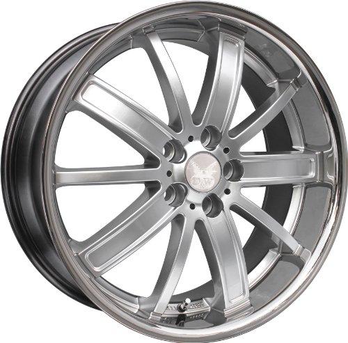 in. pro. FS de 218hs-5114335760 DW58–17 D & W Jante Sao Paulo Argent 8 x 18 5/114 et35 Hyundai Tucson (JM), 82–129 kW, Bj. 2004 -