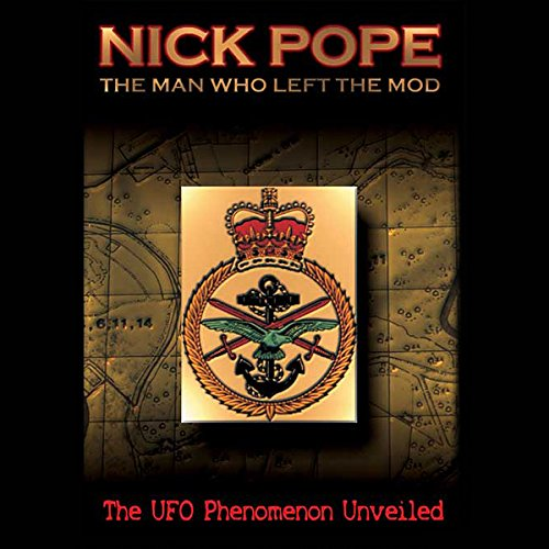 Nick Pope audiobook cover art