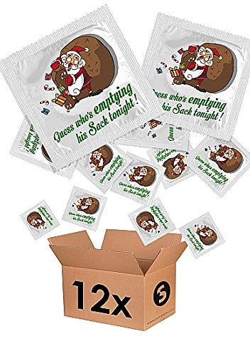 Funny Condom by Shots - Guess who's emptying his sack tonight! Pack