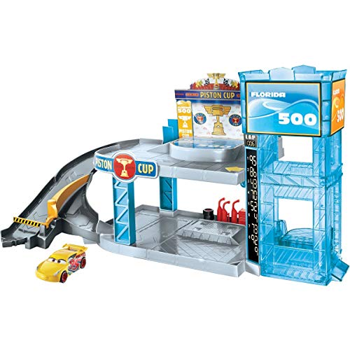 Cars Piston Cup Garage Playset, FWL70