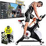 Sportstech Bicicleta estática Profesional...