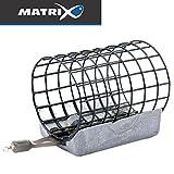 Fox Matrix Wire Cage Feeder - Feederkorb zum Feederfischen auf Friedfisch, Futterkorb zum...