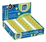 Jpc créations Boîte de 36 Gommes sans PVC Blanc