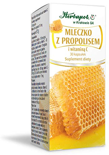 Herbapol w Krakowie SA Gelée Royale mit Propolis und Vitamin C 30 Kapseln