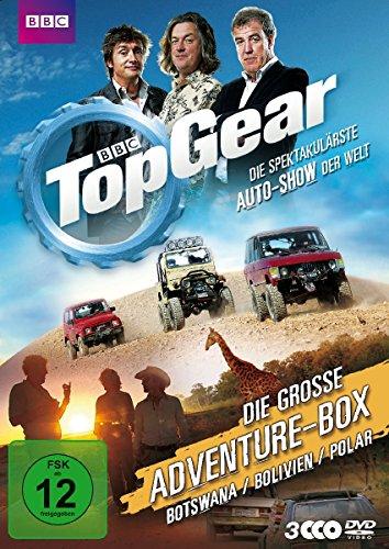 Top Gear - Die große Adventure-Box [3 DVDs]
