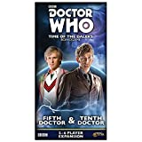 Gale Force Nine GF9DW002 Doctor Who: Time of The Dalek 5th & 10th Doctors Expansion, Mehrfarbig -