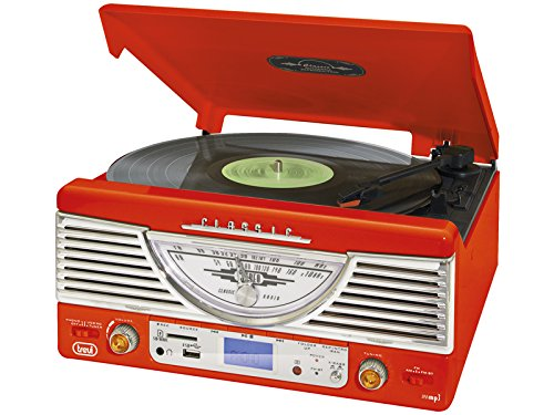 Trevi TT 1062 E - Tocadiscos (MP3, 230 V, 50 Hz), color
