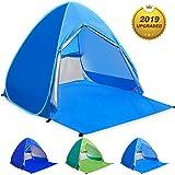 WloveTravel Tente de Plage Bebe Tentes Portable Extérieur pour 2-3 Personnes, Tente...